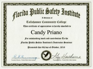 Speaker Certificate