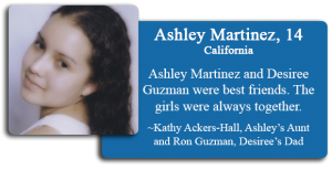 Ashley Martinez, 14
