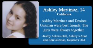 Ashley Martinez, 14