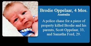 Brodie Oppelaar, 4 Months