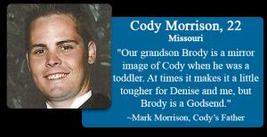 Cody Morrison, 22