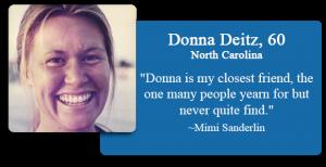 Donna Deitz, 60