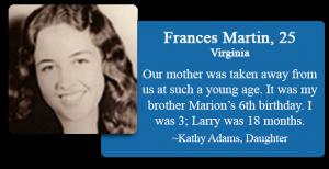 Frances Martin, 25