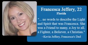 Francesca Jeffery, 22