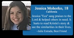 Jessica Mohorko, 18