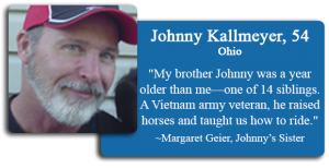 Johnny Kallmeyer, 54