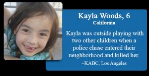 Kayla Woods, 6
