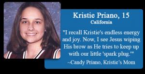 Kristie Priano, 15