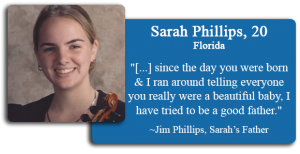 Sarah Phillips, 20
