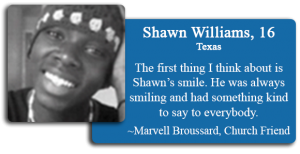 Shawn Williams Jr., 16