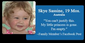 Skye Sassine, 19 Mos
